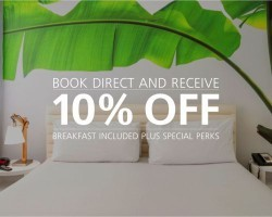 BOOK NOW AND RECEIVE 10% OFF